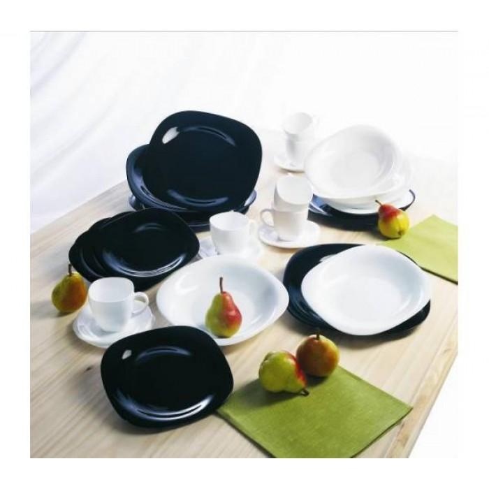 Сервиз Luminarc CARINE black&white /19 предметов (d2381)