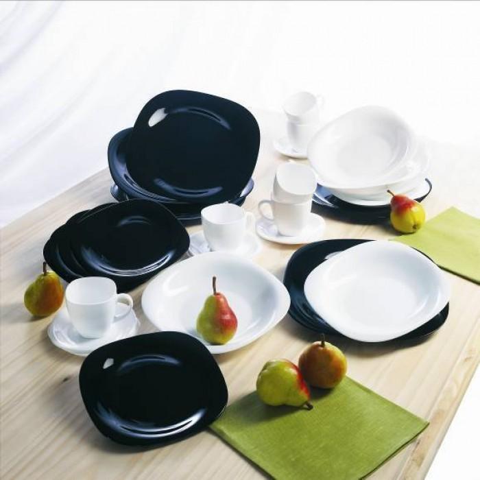 Сервиз Luminarc Carine Black&White /30 предметов (d2382)