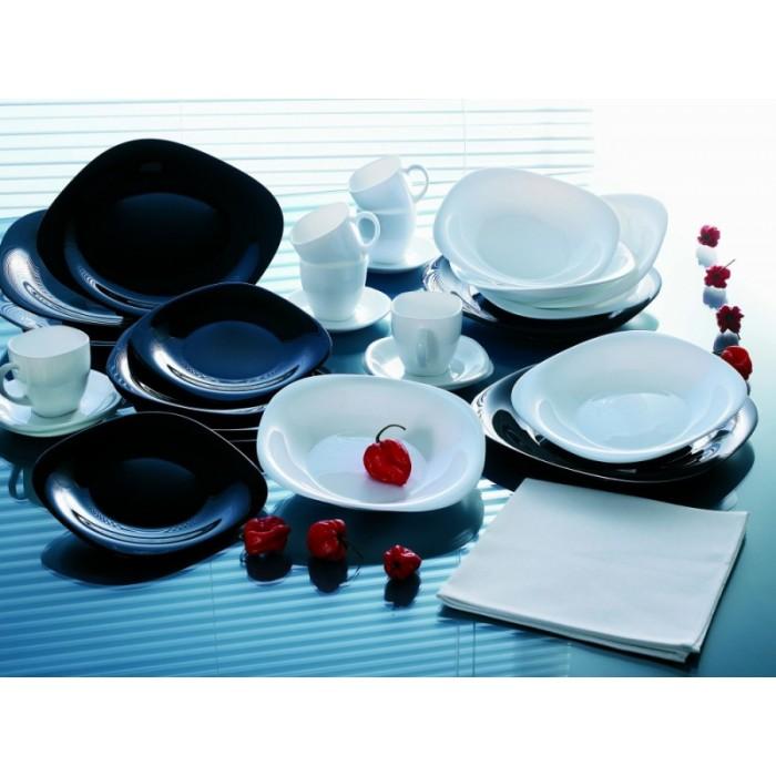 Сервиз Luminarc CARINE black&white /38 предметов (h9490)