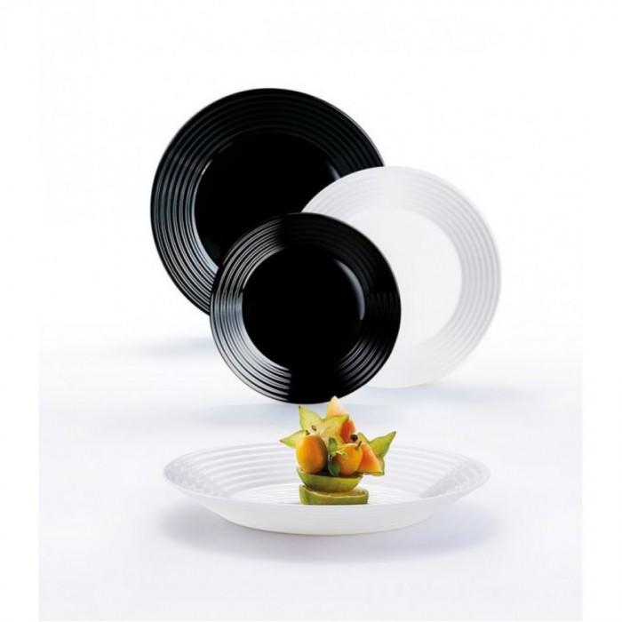 Сервиз Luminarc Harena White&Black /18 предметов (n2231)