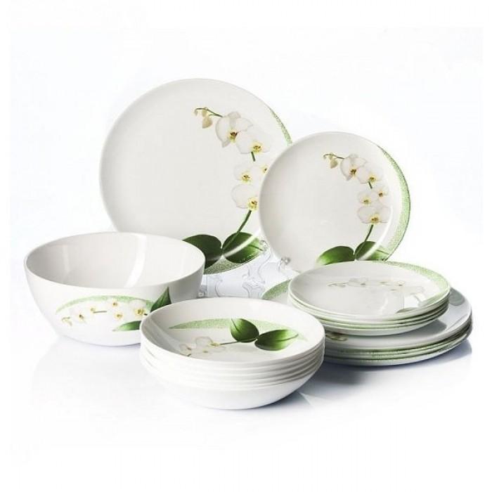 Сервиз Luminarc White Orchid /46 предметов (p0328)