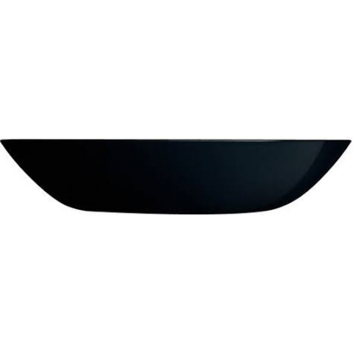 Тарелка суповая Luminarc DIWALI Black / 205 мм. (p0787)